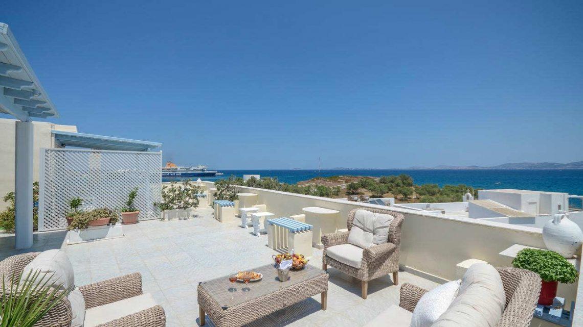 Mejores Hoteles Familiares en Naxos