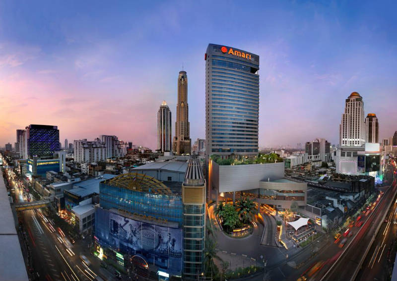Mejores Hoteles Familiares en Bangkok