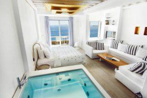 mejores hoteles en ciudad de mykonos