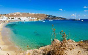 mejor playa mykonos