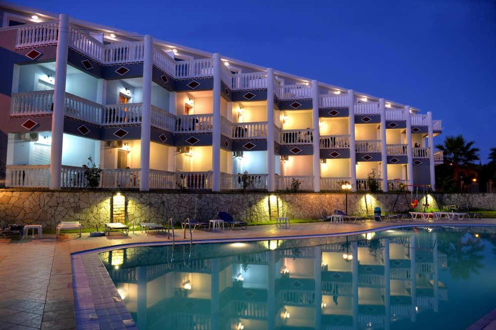 mejores hoteles zakynthos