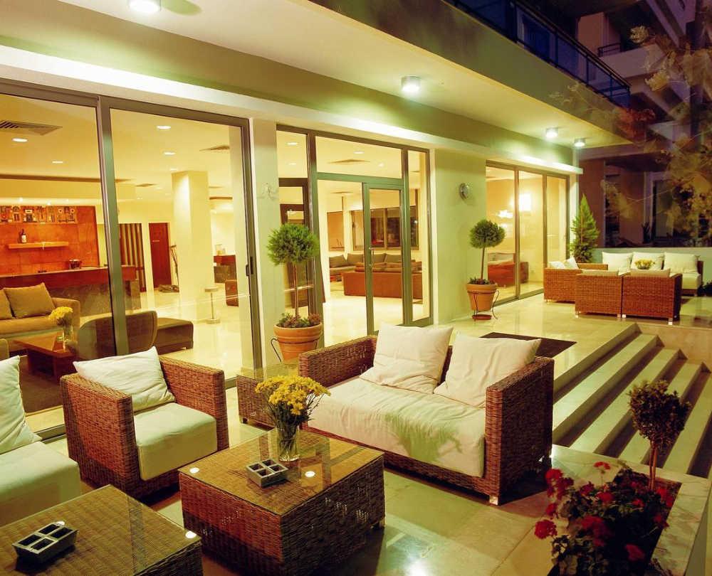 mejores hoteles familiares Rodas