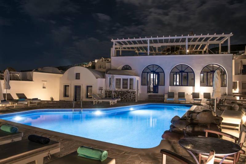 Mejores Hoteles Baratos en Santorini