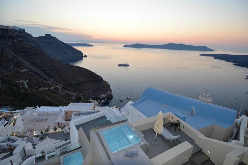 Mejores Hoteles Familiares en Santorini
