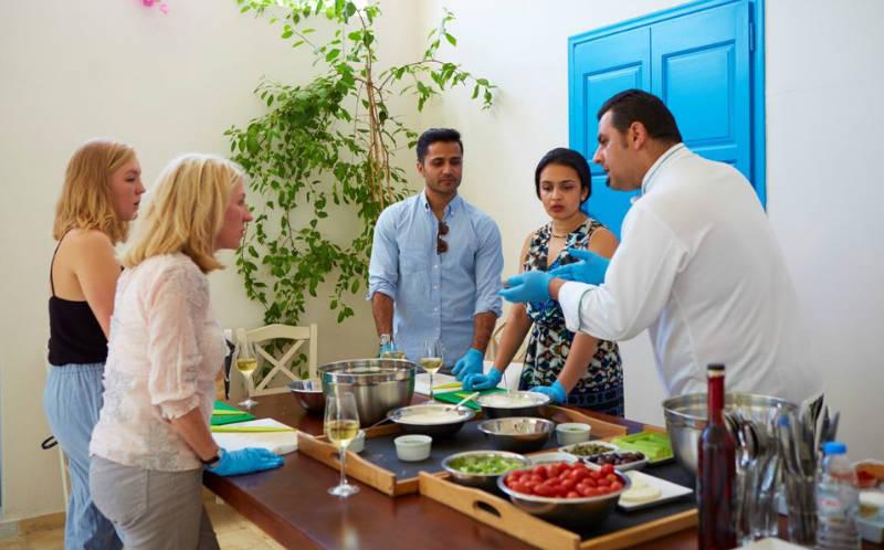 cocina griega santorini