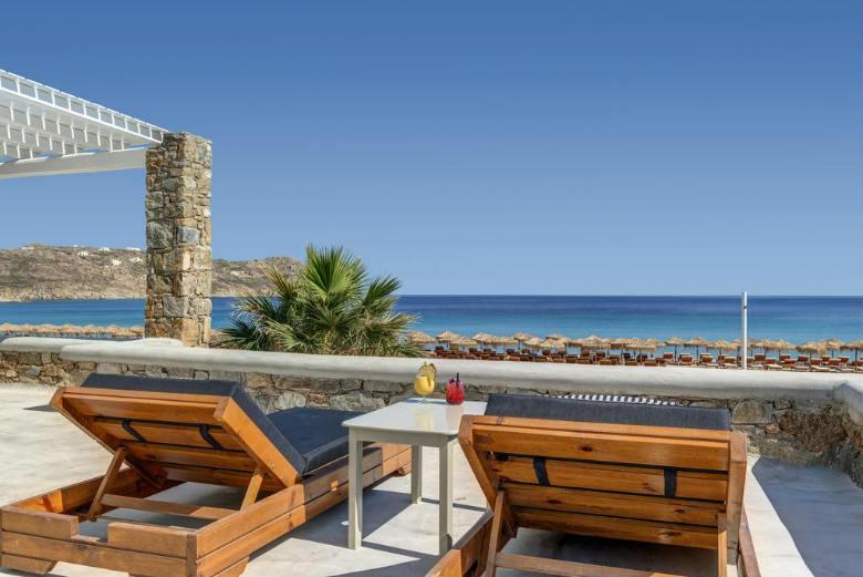 elia beach hotel mykonos