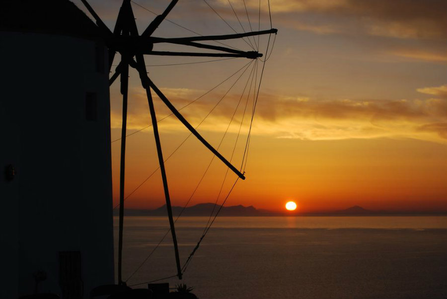 golden sunset villas santorini