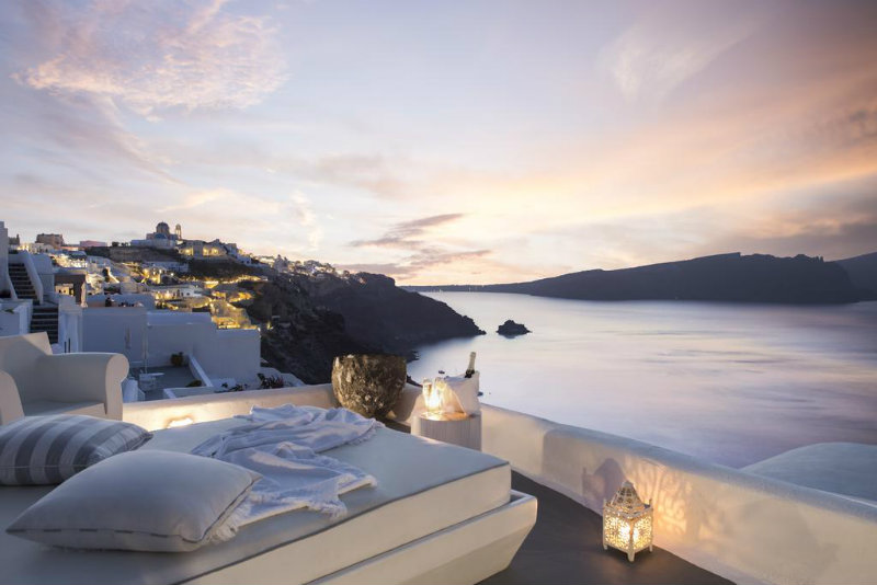 Hoteles de Luna de Miel en Santorini