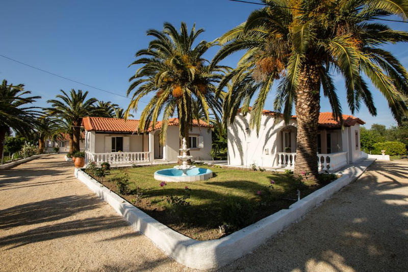 paradise village corfu