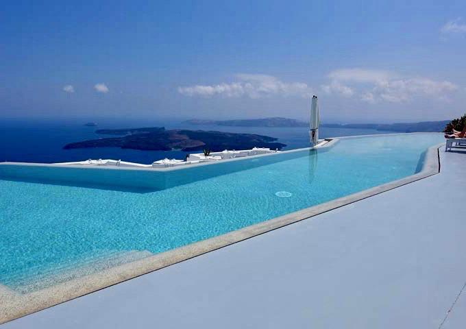 Grace Hotel Santorini: Reseña
