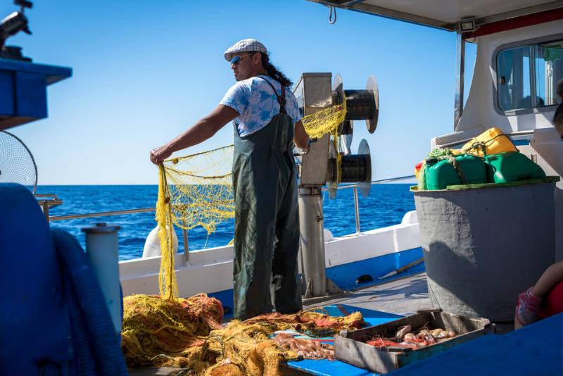 santorini pesca tour