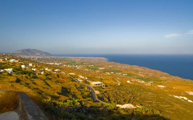 zona de playas santorini