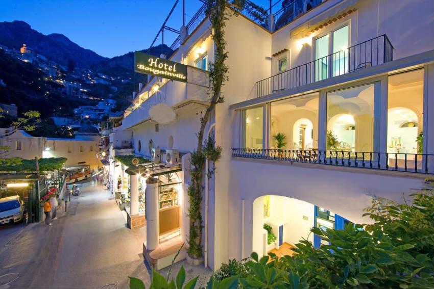 hotel bougainville positano