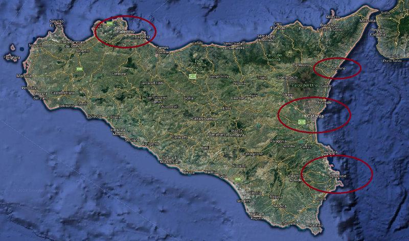 mejores zonas de sicilia