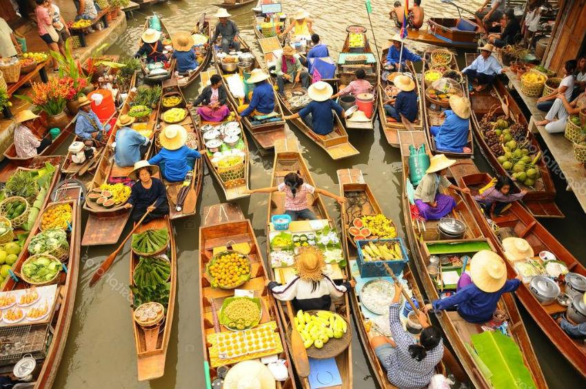 10 Mejores mercados en Bangkok
