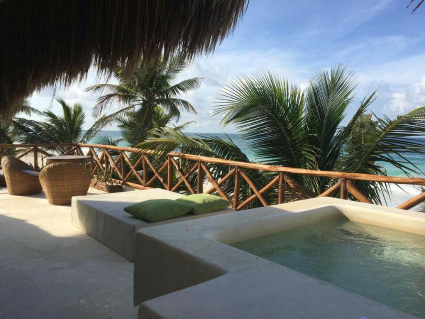 hermosos hoteles en Tulum playas