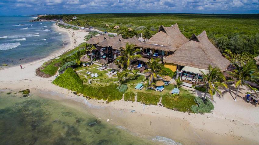 El pez Tulum hotel y hostel baratos en 2020