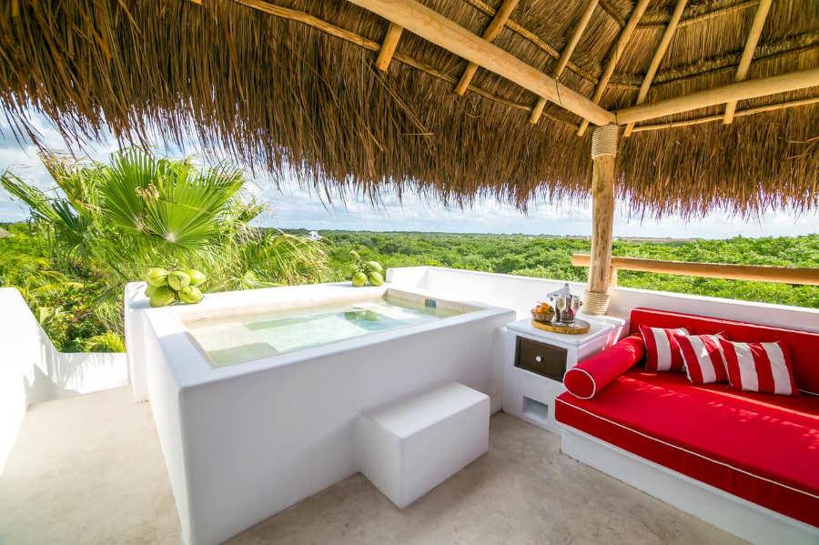Hotel Esencia - luna de miel mexico