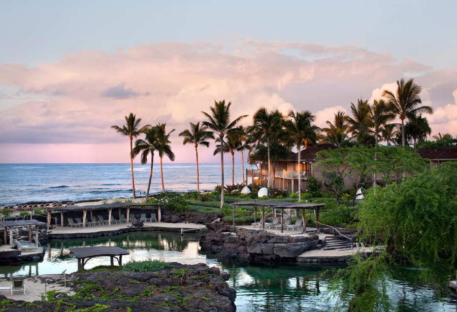 Four Seasons Resort Hualalai - luna de miel en hawaii