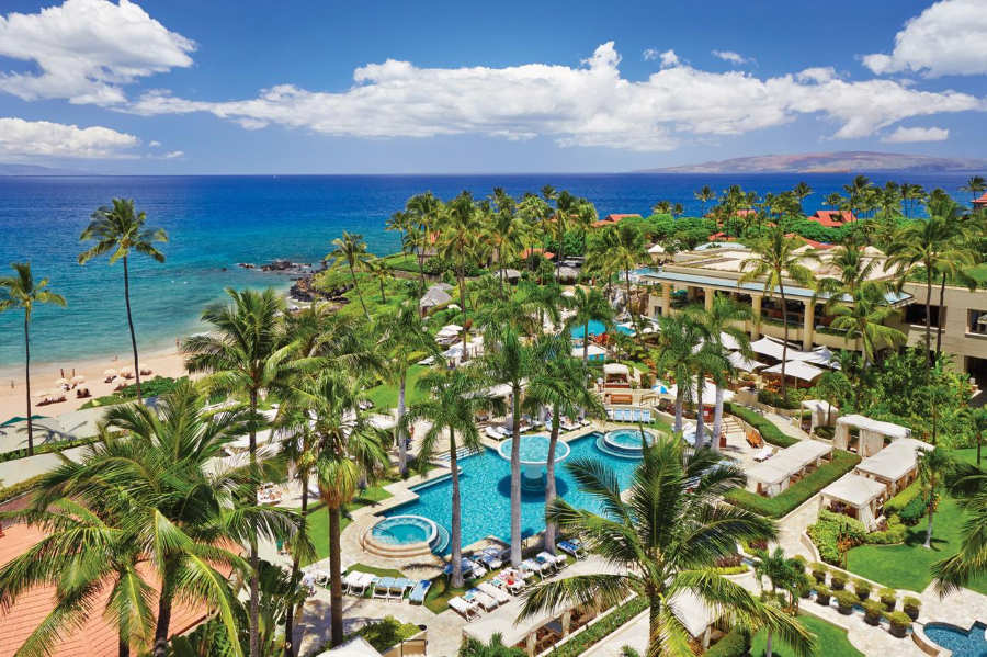 Four Seasons Resort Maui at Wailea - luna de miel en hawaii
