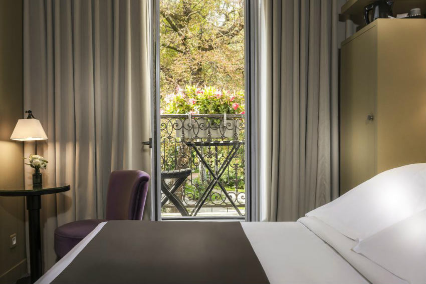 Gardette Park Hotel donde alojarse en paris