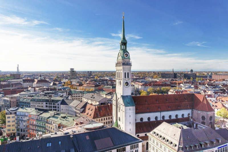 Altstadt - donde alojarse en munich