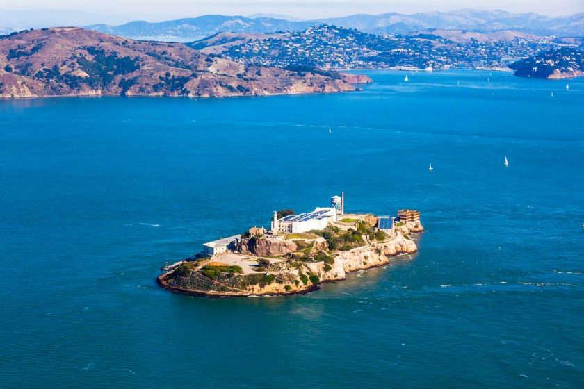 Alcatraz - donde alojarse en San francisco