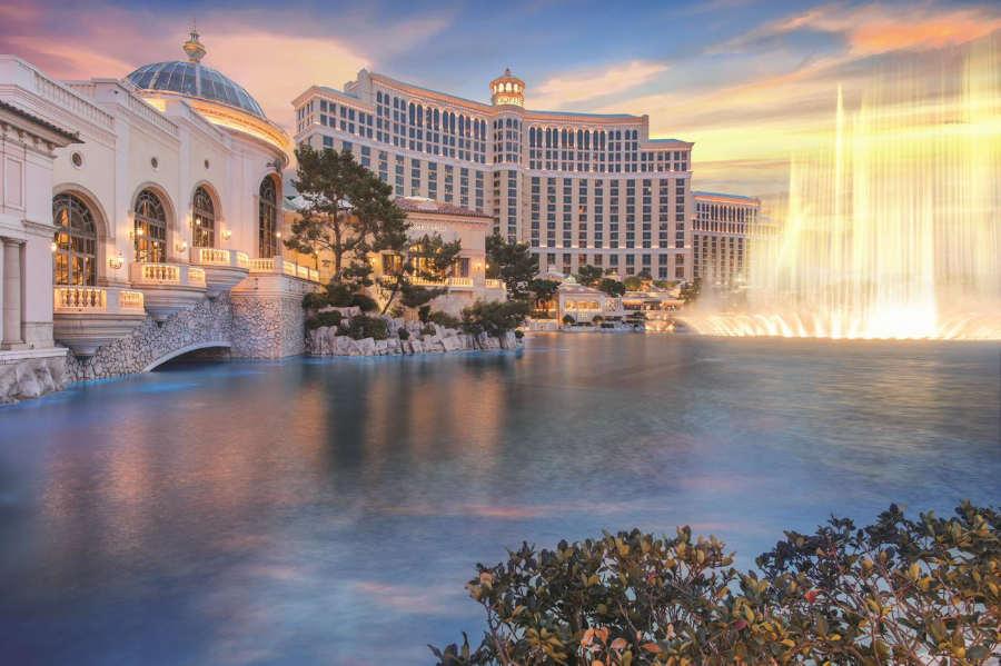 Bellagio - mejores hoteles en las vegas