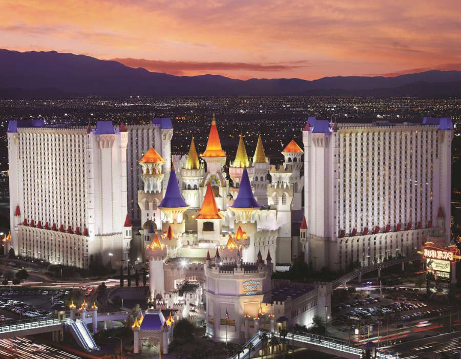 Excalibur - hoteles familiares en las vegas