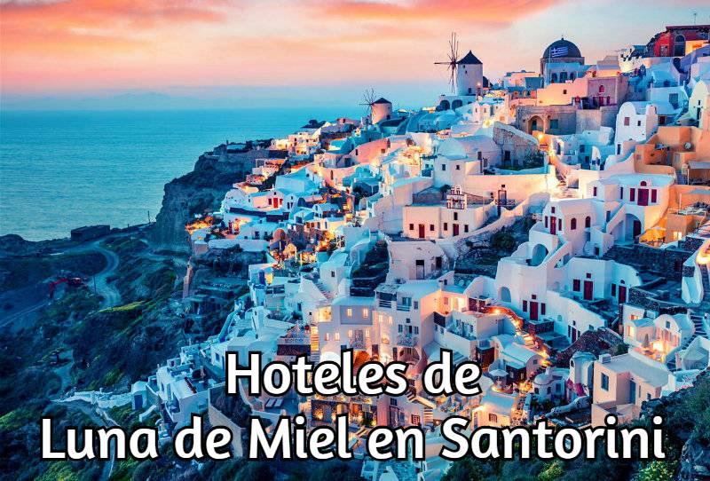Hoteles Románticos en Santorini