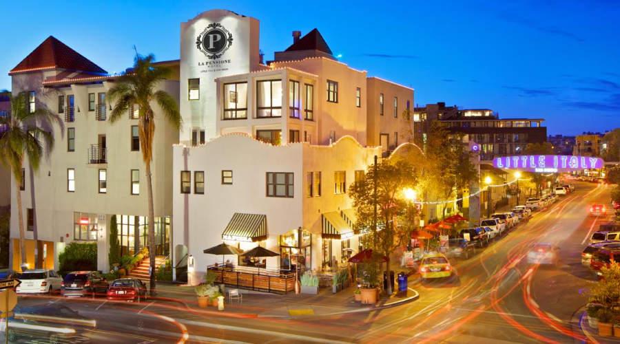 La Pensione Hotel - san diego hoteles baratos