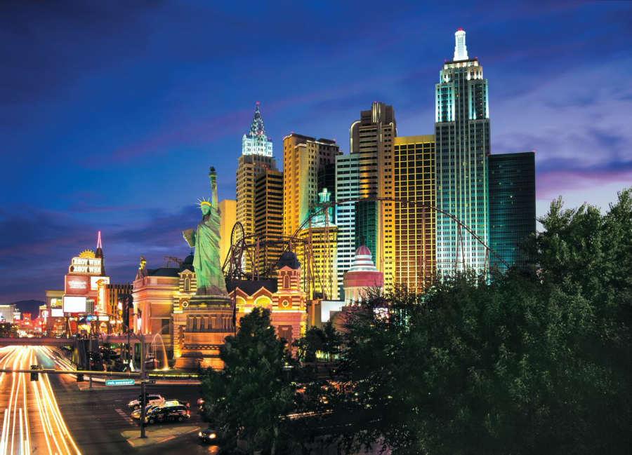 New York New York - hoteles familiares las vegas