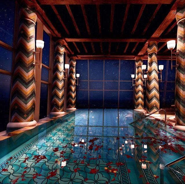 piscina infinita burj al arab